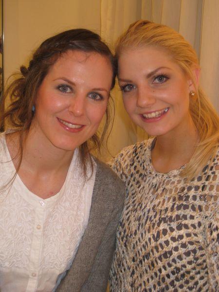 Meg og Ida-Marie