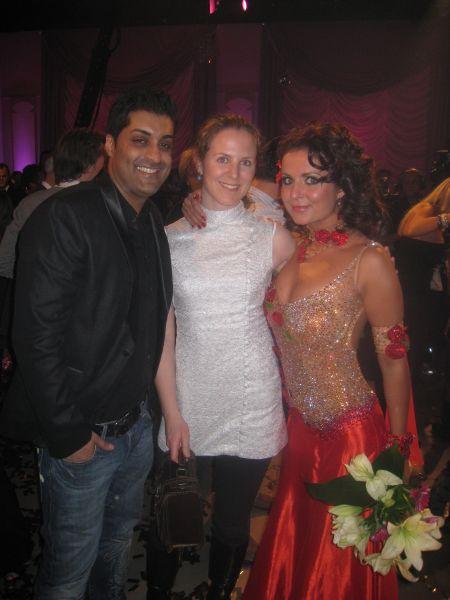 Tommy Sharif, meg og Nadia